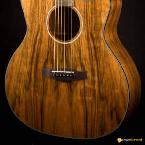 Tanglewood TVC-X-PW Evolution Exotic Pacific Walnut Venetian Cutaway Auditorium with Electronics Natural Gloss