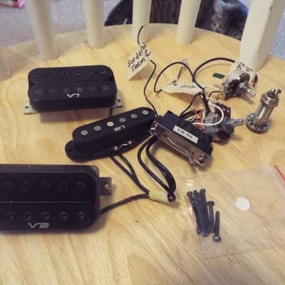 ibanez vintage v1, s1, v2 pickups and wiring harness from 1991 rg550