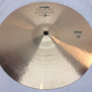 """Paiste 13"""" 505 """"Green Label"""" Ride Cymbal"""