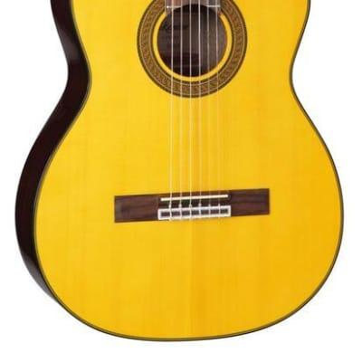 Takamine GC5CE-NAT Acoustic Electric Classical Cutaway Guitar, GC5CENAT for sale