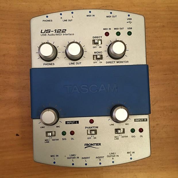 TASCAM US-122 USB Audio/MIDI Interface | Reverb