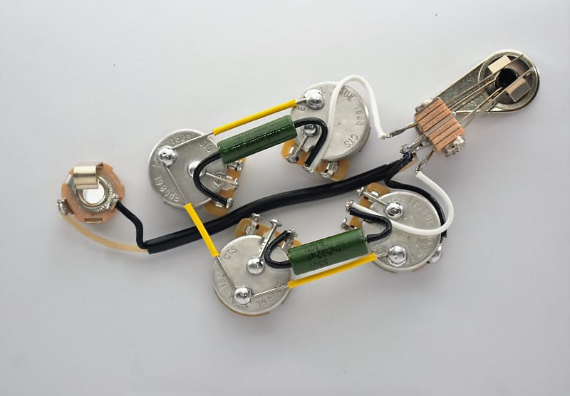 Sg  U00ae Type Wiring Harness For Gibson  U00ae Sg Left Handed With