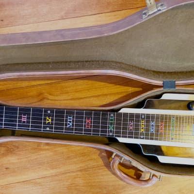 Vintage National New Yorker lap steel guitar 1940s-50s