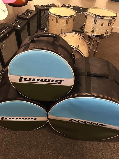 Ludwig Legacy Classic 3pc Bop Kit In Vintage White Marine