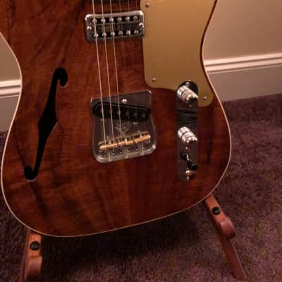 Fender Fender Custom Shop Thinline Telecaster Natural Koa 2017 2017 Koa for sale