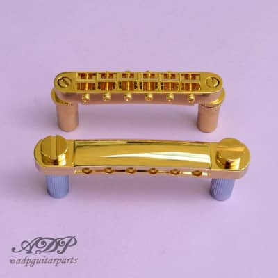 Bridge + Stoptail Gotoh GE103B + GE101Z  Style Tune-O-matic Metric for sale
