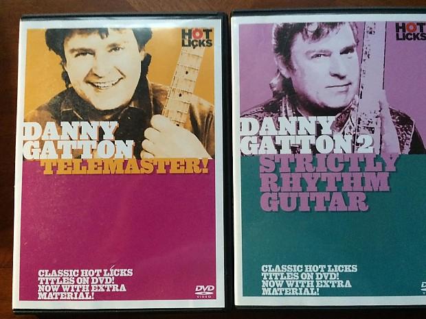 Danny Gatton 2 Hot Licks Dvd Instruction Reverb