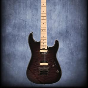 Charvel Pro Mod San Dimas SD1 HH FR Black Burst for sale