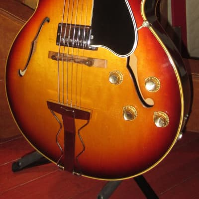 Vintage 1967 Gibson ES-175 Archtop Electric Hollowbody Sunburst w/ Hardshell Case for sale