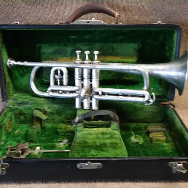 Conn Victor 80A 1921 Vintage Restored to Original Playing Condition. image