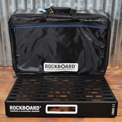 Warwick Rockboard Cinque 5.2 B Guitar Effect Pedalboard & Gig Bag