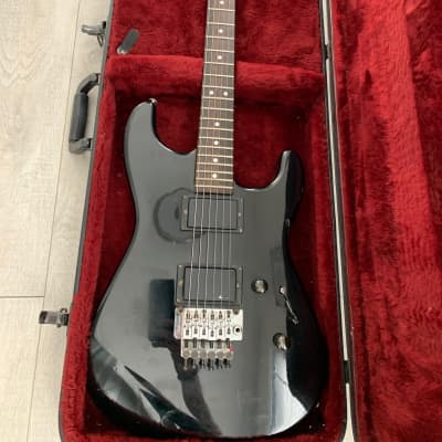 Charvel Model 3/Original Floyd Rose 1987 Black for sale
