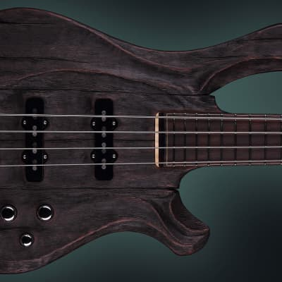 """KD, Phen """"Chabby"""", Custom Handmade Unique Boutique 4 string Electric Bass SN#001"""