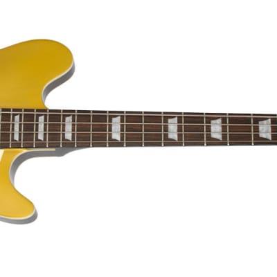 Epiphone Jack Casady Signature Bass Guitar - Metallic Goldtop for sale