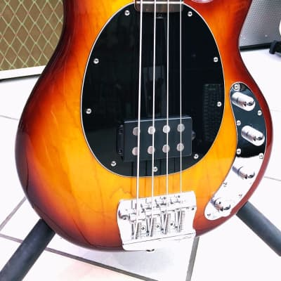 STERLING BY MUSIC MAN RAY 34 HONEY BURST for sale