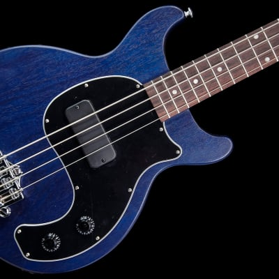 Gibson Les Paul Junior Tribute DC Bass 2019 Blue Stain w/ Deluxe Gig Bag for sale