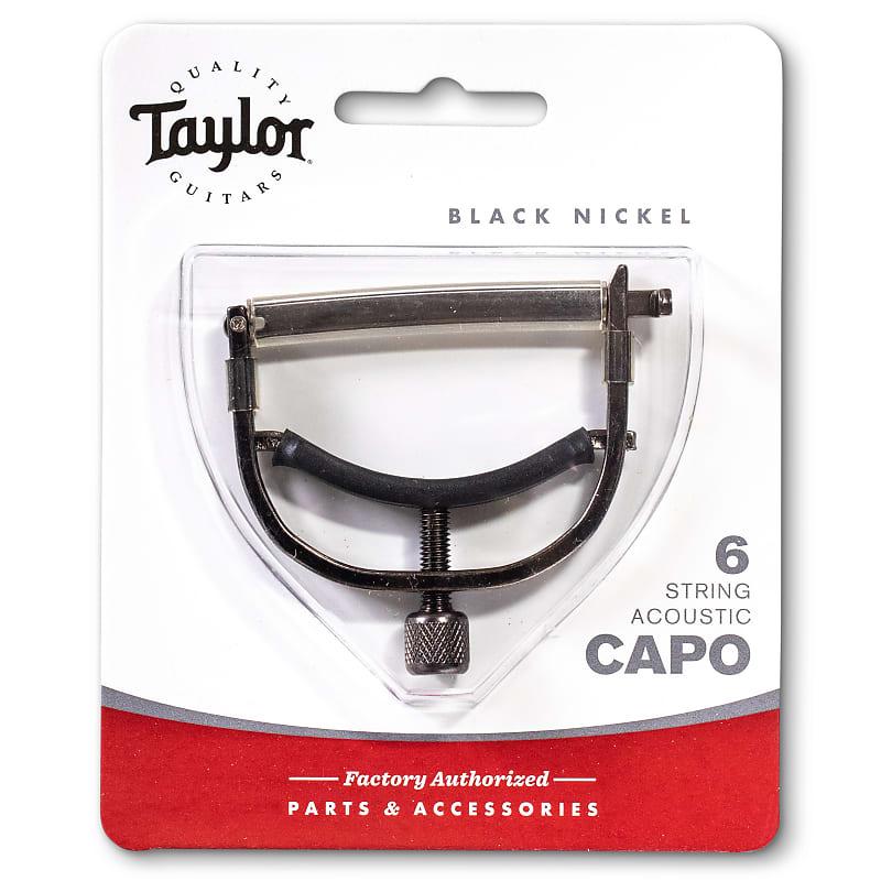 Taylor Capo, 6-String, Black Nickel