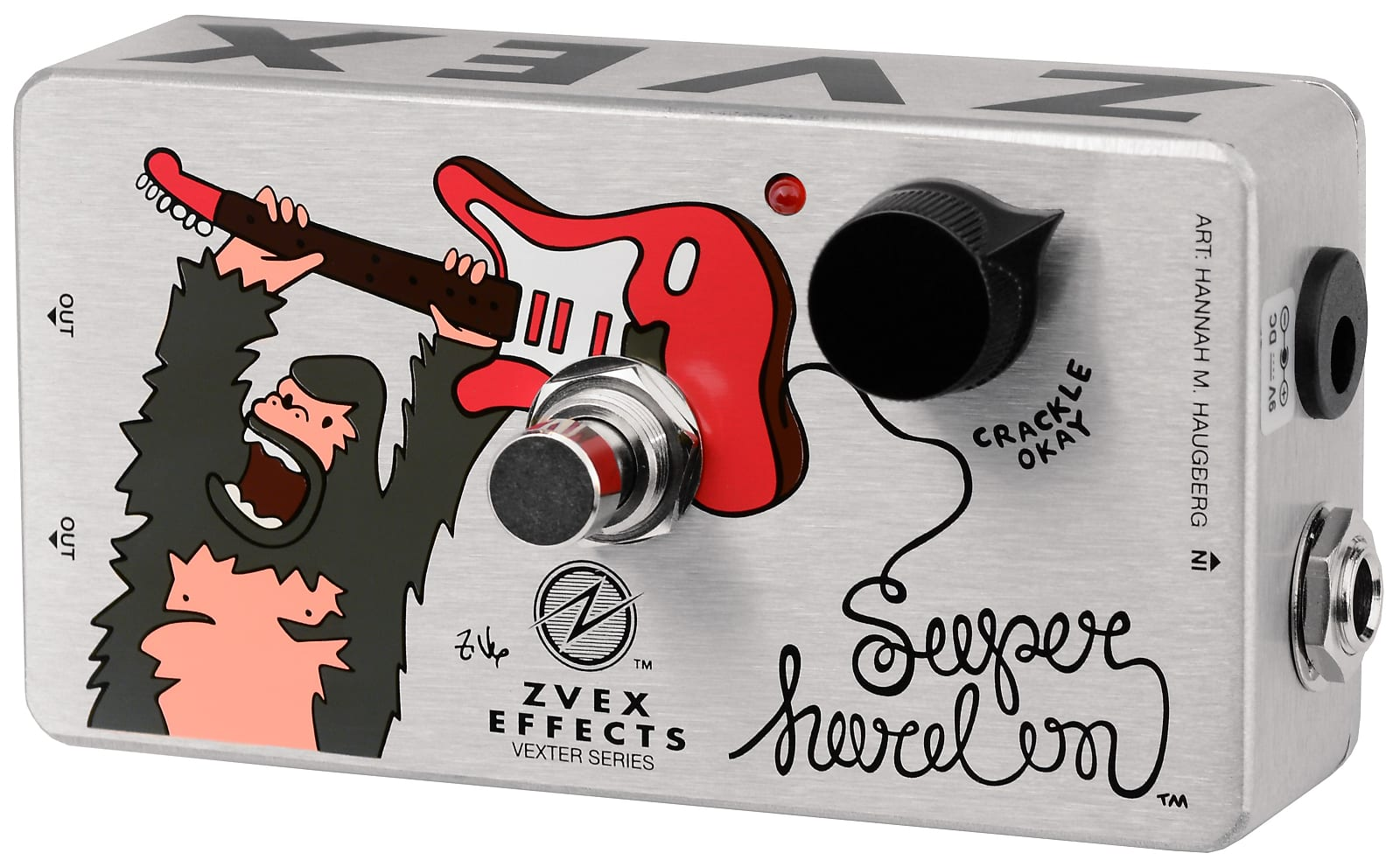 ZVEX Super Hard On Vexter Series Boost Effects Pedal
