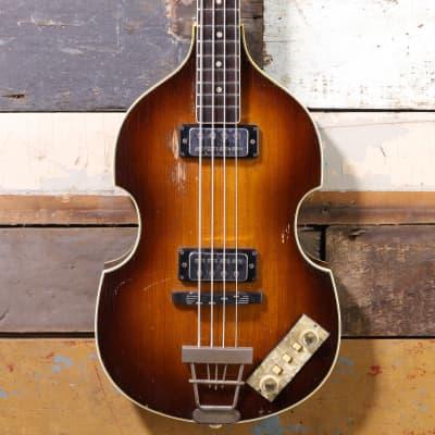 1965 Hofner 500/1 Violin/Beatle Bass Sunburst
