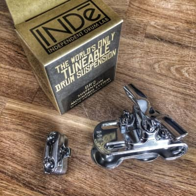 INDe Drum Labs BR2 Tom Suspension Mount Bracket Chrome