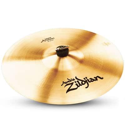 "Zildjian 16"" A Series Rock Crash Drumset Cymbal with High Pitch & Loud Volume A0250"