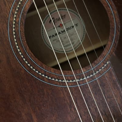 Fender Fender PM-3 Standard Triple-0 All-Mahogany Acoustic Guitar Natural 2019 Mahogany for sale
