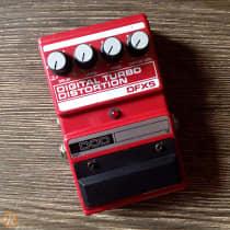 DOD Digital Turbo Distortion DFX5 1980s Red image