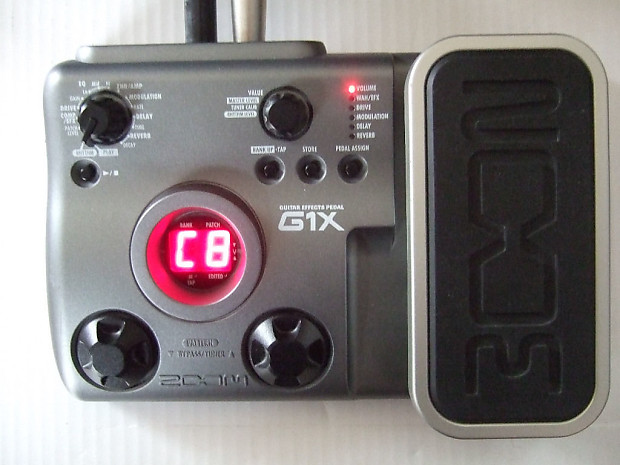 zoom g1x guitar effects pedal reverb. Black Bedroom Furniture Sets. Home Design Ideas