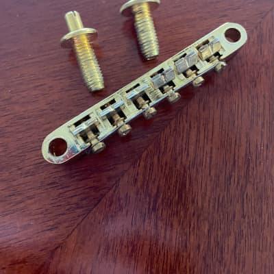 Gold Guitar Bridge