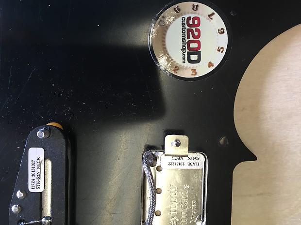 920D Custom shop Brent Mason Loaded Telecaster pickguard | Reverb on