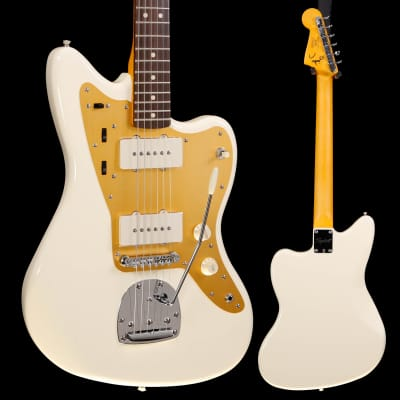 Squier J Mascis Jazzmaster, Laurel FB, Vintage White 665 8lbs 2.5oz for sale