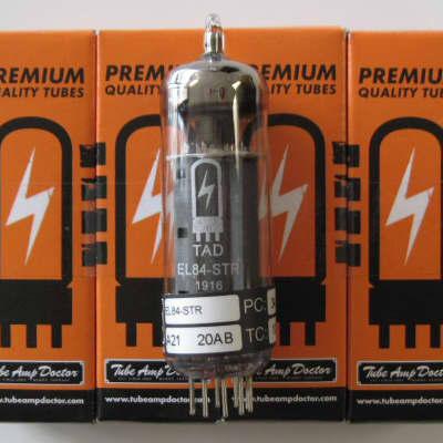 Tube Amp Doctor TAD EL84-STR matched quartet RT874