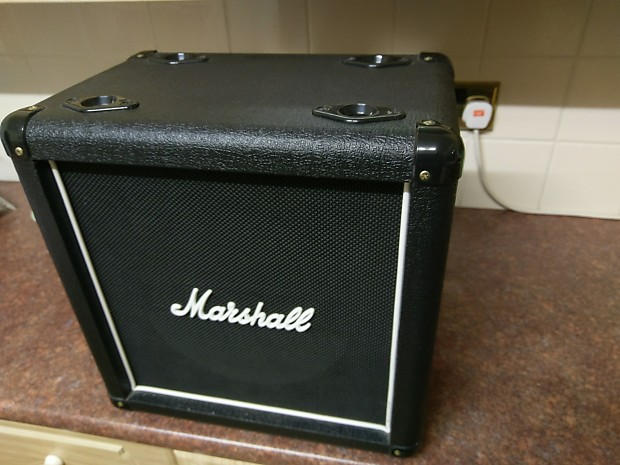 Marshall 1x10 Straight Cabinet, Celestion Greenback Loaded | Reverb