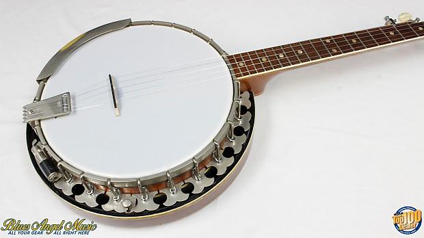 Vintage 1970's Era OME Long Neck 5-String Banjo w/ Sliding Capo & Case!  #36335