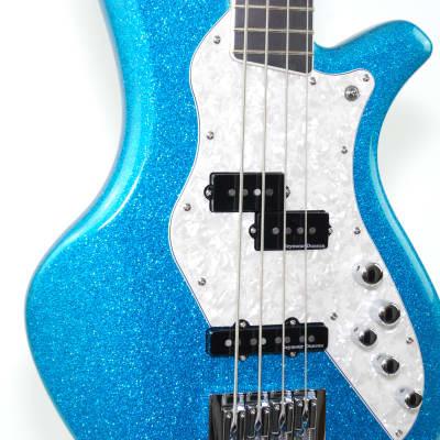 Dream Studios Studio Bass 2016 Metallic Blue Sparkle for sale