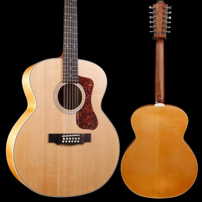 Guild Westerly Collection F-2512E 12 String, Maple Blonde w/ Deluxe Bag S/N G3194882 5lbs 5.4oz for sale