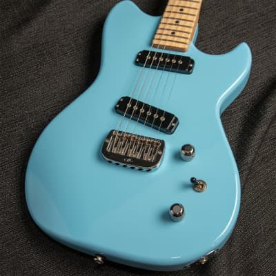 G&L SC-2 Himalayan Blue on Swamp Ash for sale