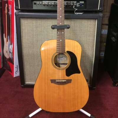 Garrison <G30-E-HG> Acoustic Guitar w/ Fishman Electronics w/ Hardshell High Gloss Natural [ProfRev] for sale