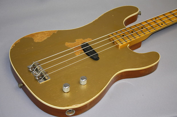 c28aaef5 NEW Fender Custom Shop Gold Top Dusty Hill Precision bass | Reverb