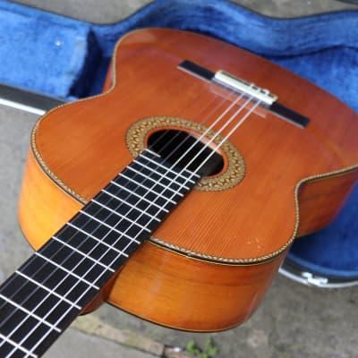 ∞ Superb, Rare Solid Cedar/Rosewood Vintage 70's Japanese Classical  + OHSC + Luthier Restored ∞ for sale