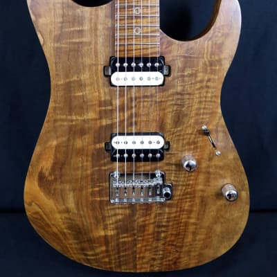 Agostin Custom Guitars S Model Koa HH 2019 Natural Oil for sale