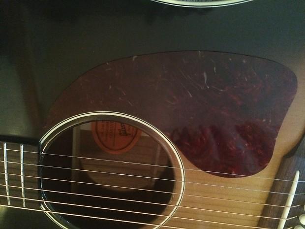 Celluloid J-45 style Acoustic Guitar Pickguard Scratchplate /'brown tortoise/'