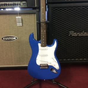 Cruzer by Crafter Strat Electric Guitar Blue ST-200/BLU Free Ship! [ProfRev] for sale
