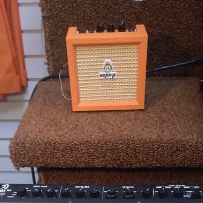 "Orange Crush Mini 3-Watt 1x4"" Guitar Combo 2010s Orange"