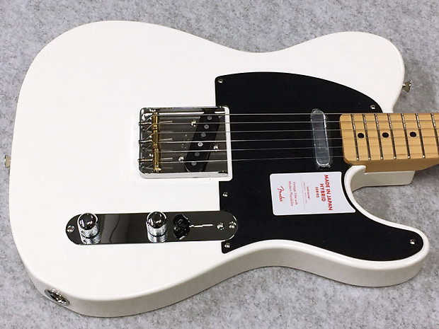 Faaqidaad : Fender made in japan hybrid telecaster review