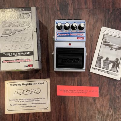 DOD FX747 Supersonic Stereo Flange (Jason Lamb series) for sale