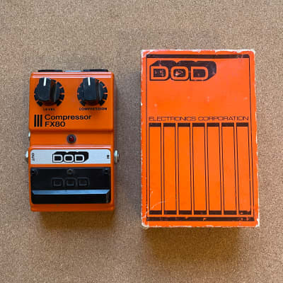 DOD Compressor FX80 (Made in USA)