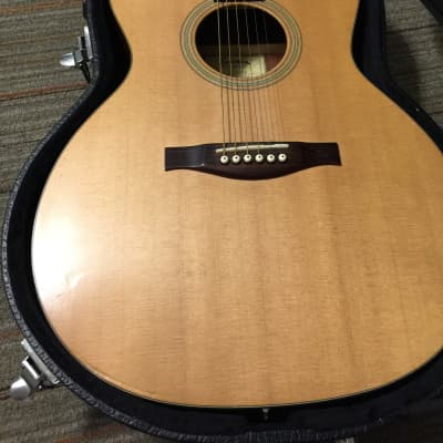 Eastman AC122ce with hard case