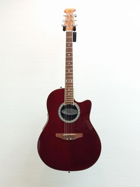 ovation celebrity acoustic electric guitar good reverb. Black Bedroom Furniture Sets. Home Design Ideas