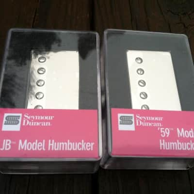 Seymour Duncan SH-4 JB Bridge & SH-1 59 Neck Nickel Humbucker Pickup Set image